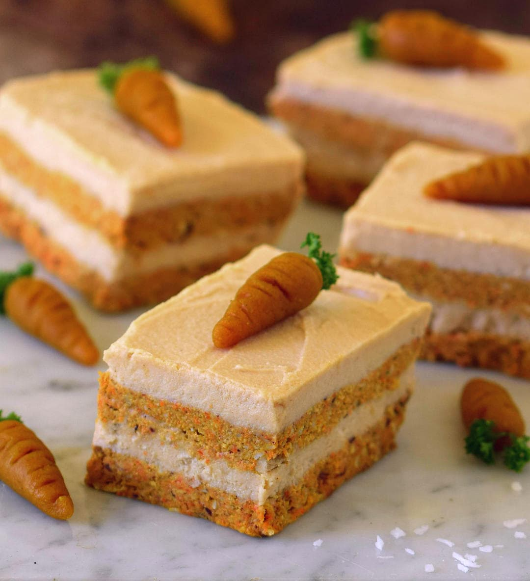 Yummy No Bake Carrot Cake