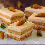 no-bake carrot cake bars vegan gluten-free healthy recipe