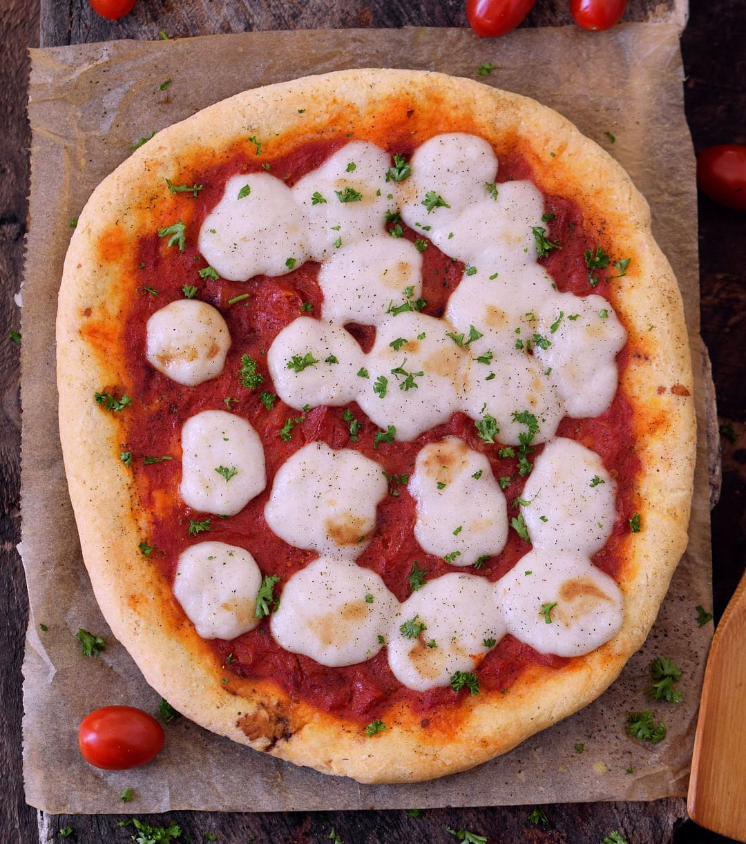 video on how to make gluten free pizza dough