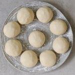 vegan gluten-free steamed yeast dumplings balls