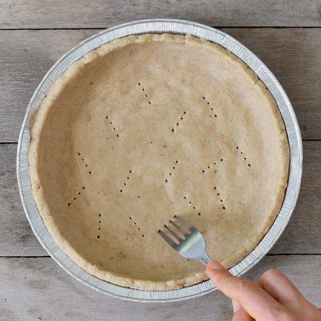 vegan key lime pie crust with 4 ingredients
