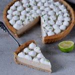 vegan key lime pie with marshmallow fluff gluten-free dessert
