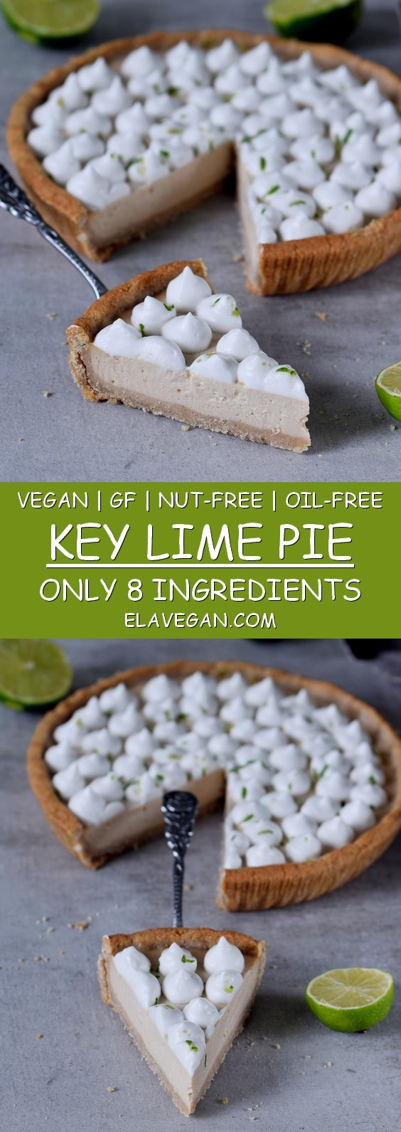 vegan key lime pie with marshmallow fluff gluten-free healthy nut-free recipe