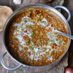 Recipe of the best lentil soup with coconut milk