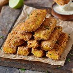 crispy polenta fries gluten-free recipe 150x150
