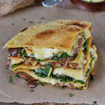 cheesy vegan spinach quesadillas with gluten-free tortillas