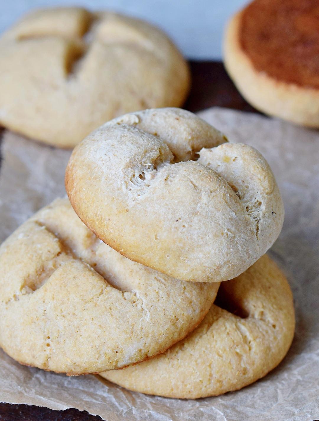Gluten Free Buns Bread Rolls Vegan Oil Free Recipe Elavegan