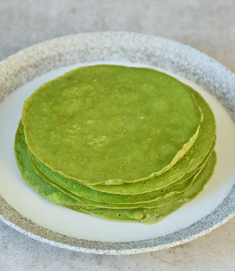 Spinat Tortillas