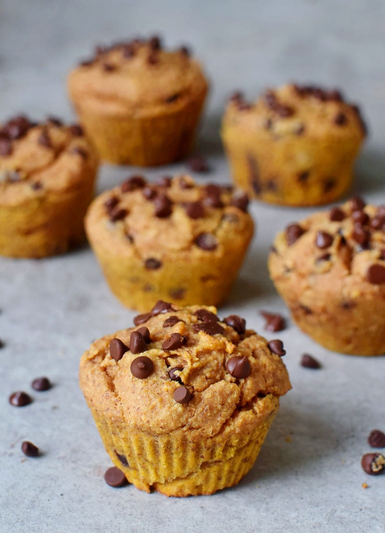 vegan muffins with chocolate chips gluten-free recipe