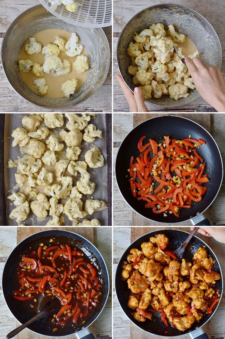 How to make Kung Pao Cauliflower