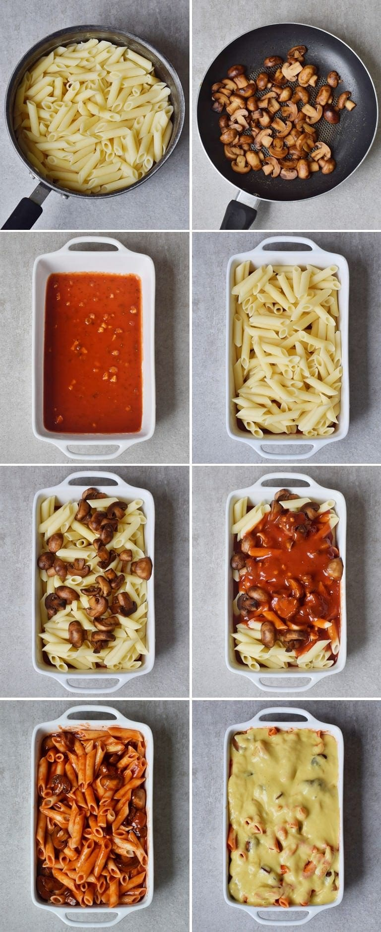 How to make easy vegan baked ziti
