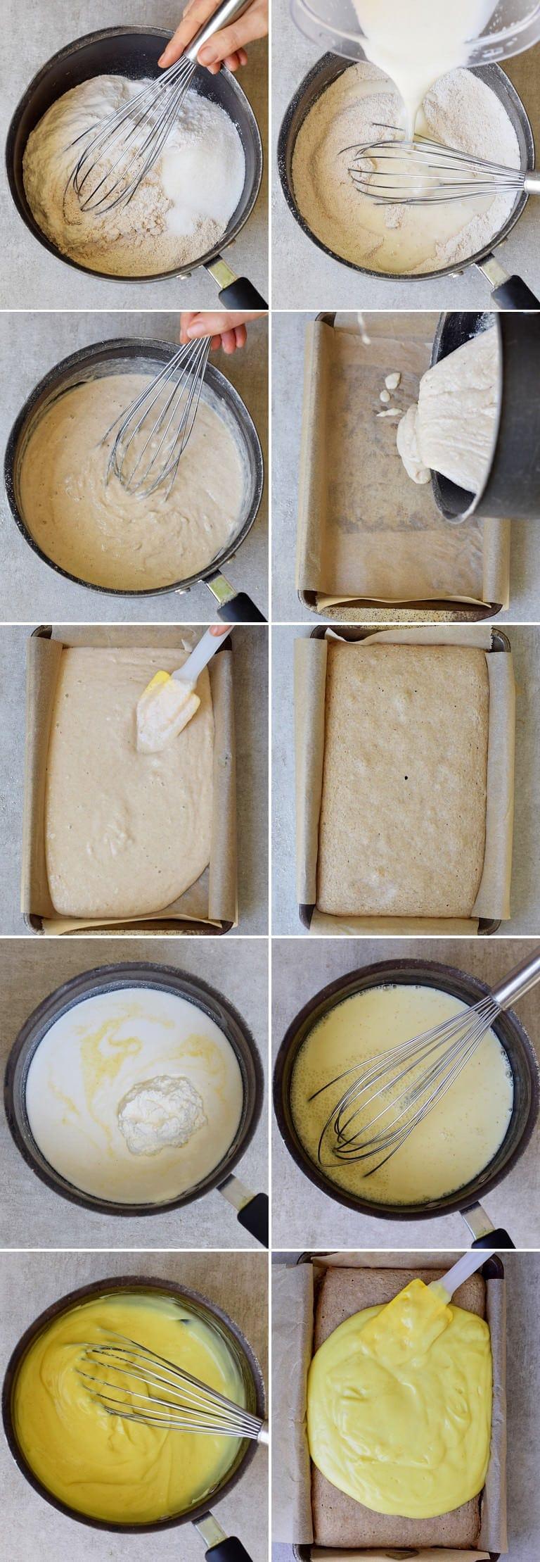 how to make a pudding cake