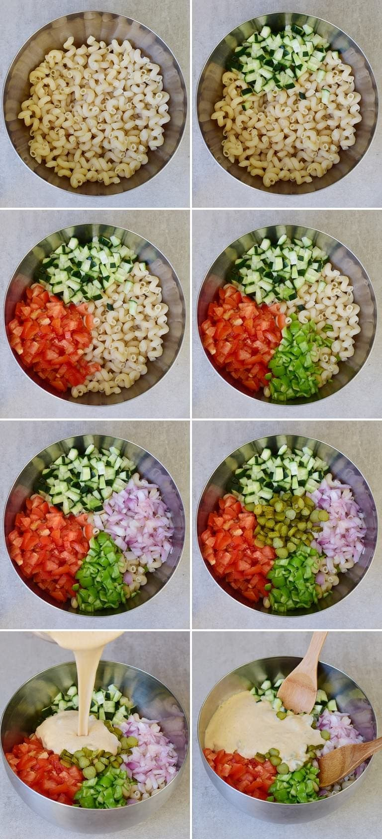 how to make a vegan pasta salad