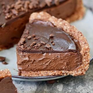 gluten-free no-bake choc cake