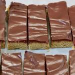 no-bake vegan protein chocolate bars