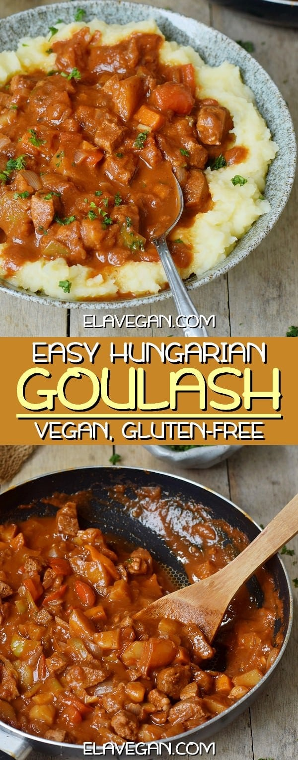 The Best Vegan Hungarian Goulash Easy Recipe