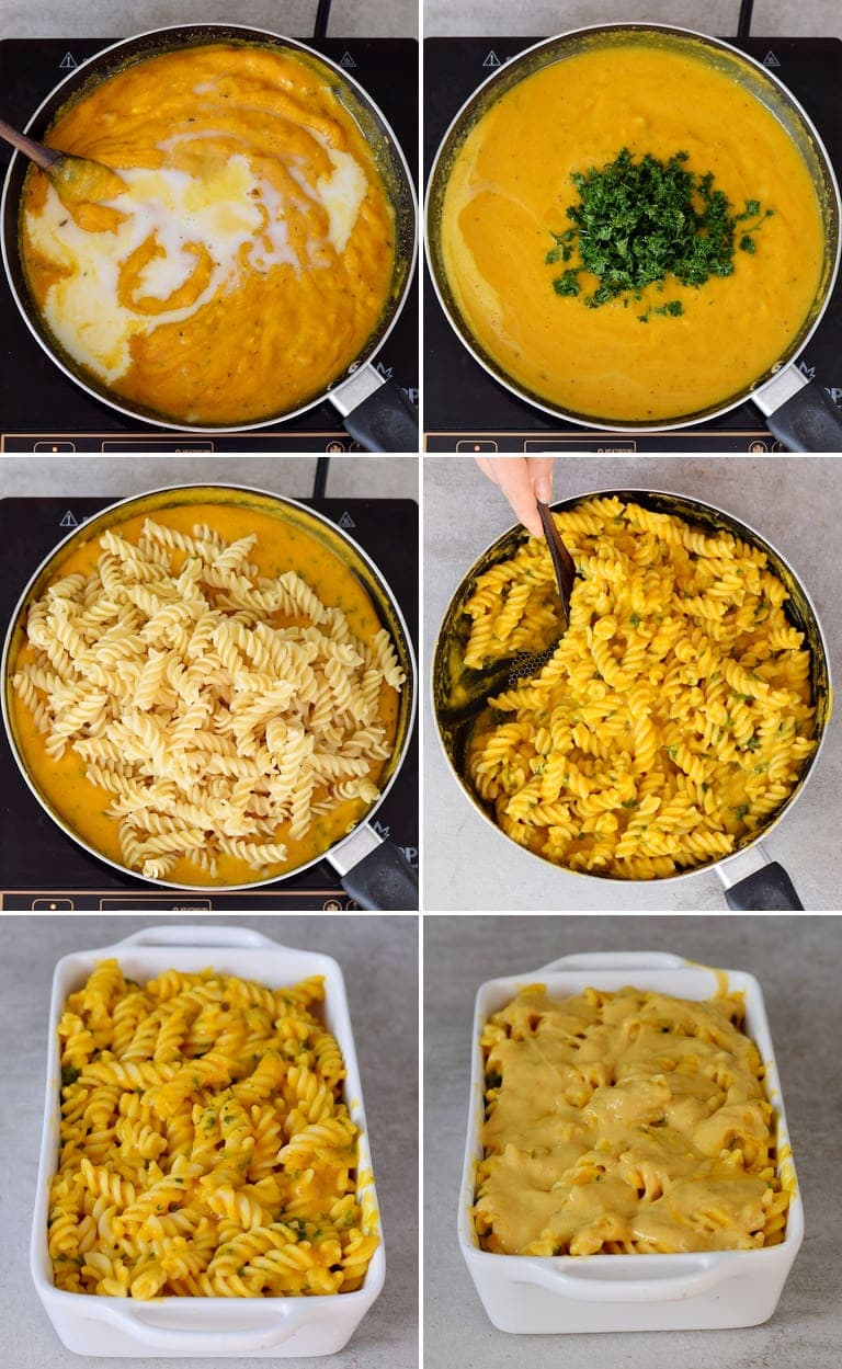 How to make a pasta bake