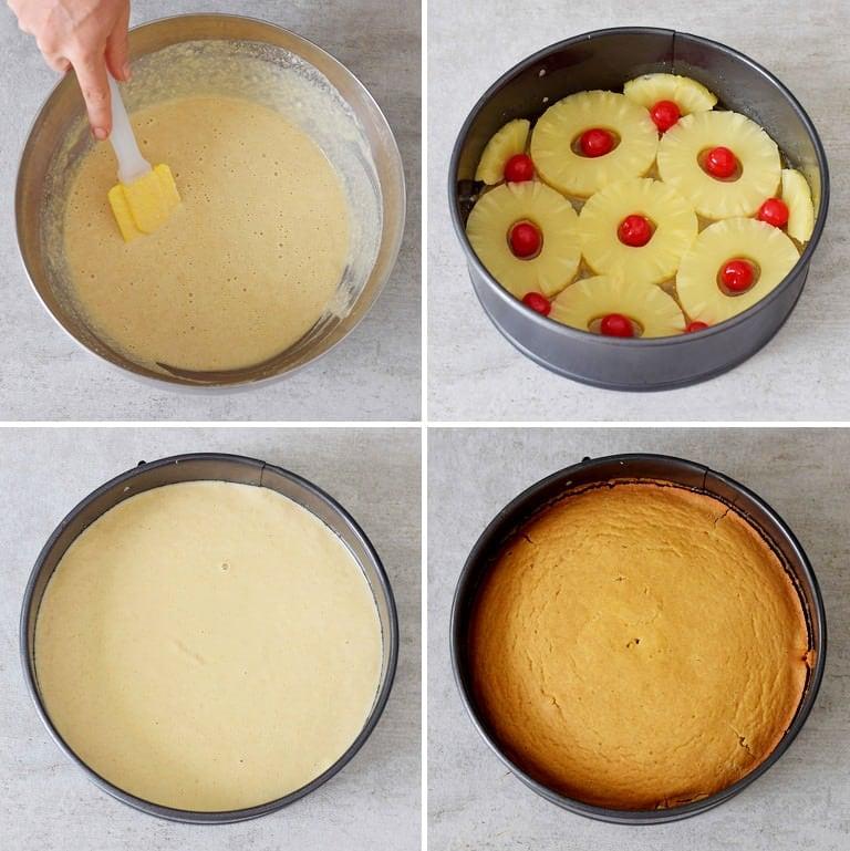 How to make a vegan pineapple upside down cake