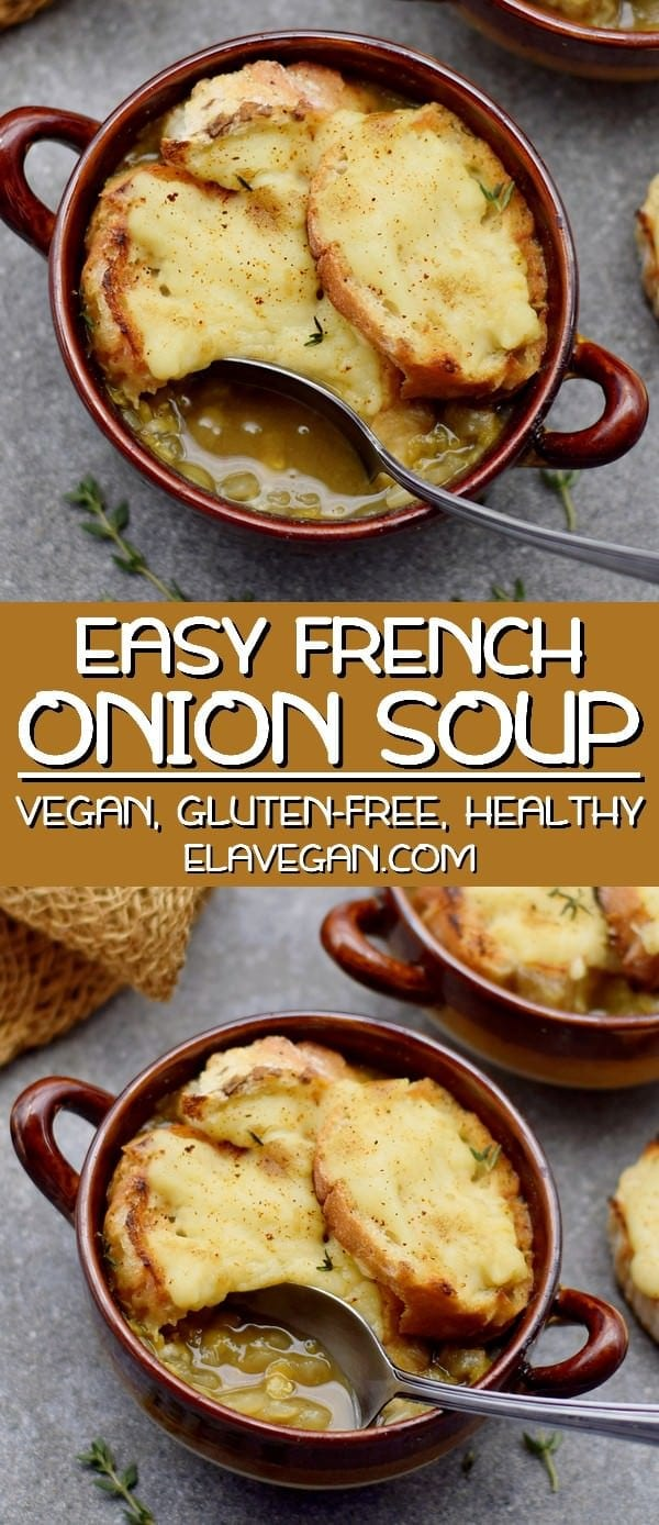 Easy Vegan French Onion Soup Recipe
