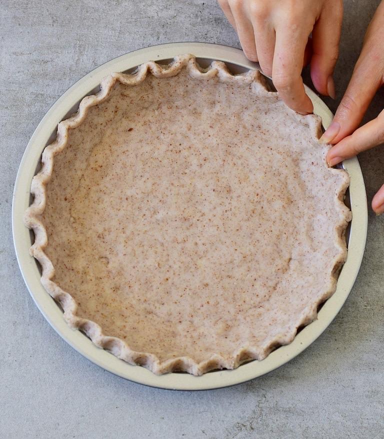 Glutenfreier Kuchenboden (pie)