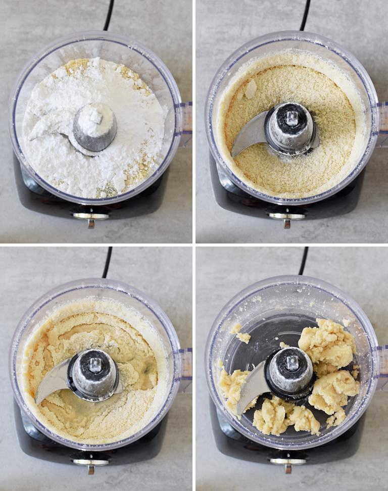how to make marzipan in a food processor