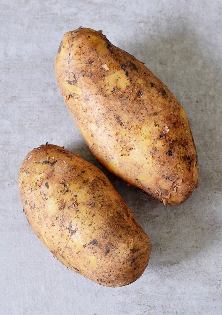 2 large potatoes