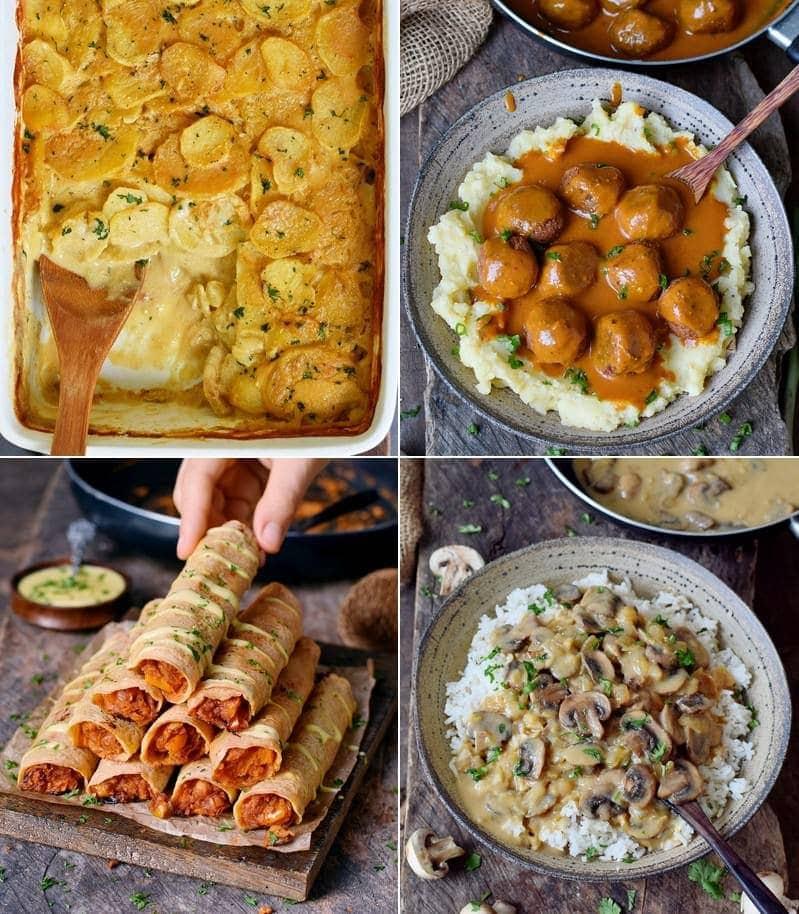 14 Vegan Dinner Recipes Using Easy Pantry Ingredients Elavegan