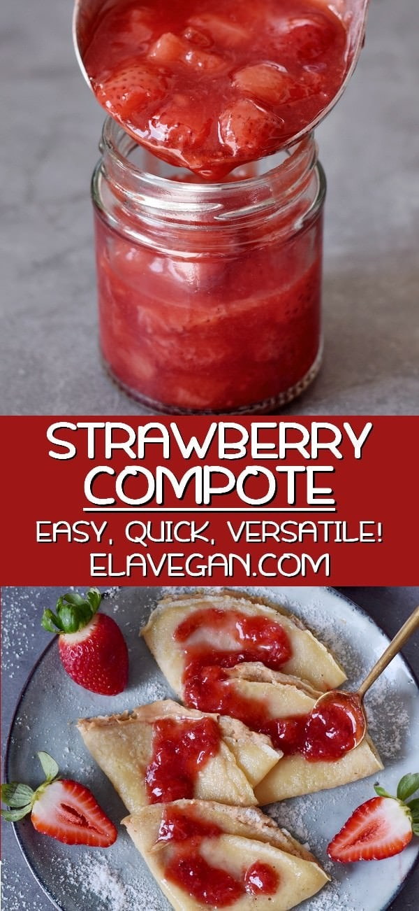 Pinterest Collage Strawberry Compote