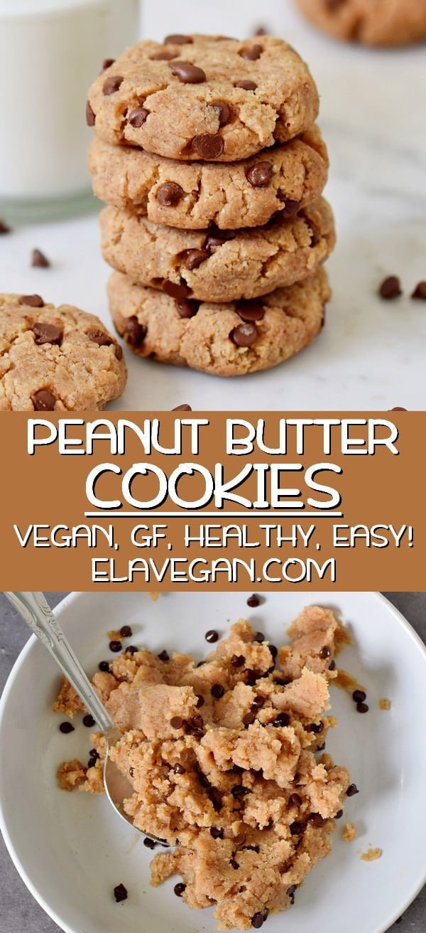 Pinterest Collage healthy peanut butter cookies