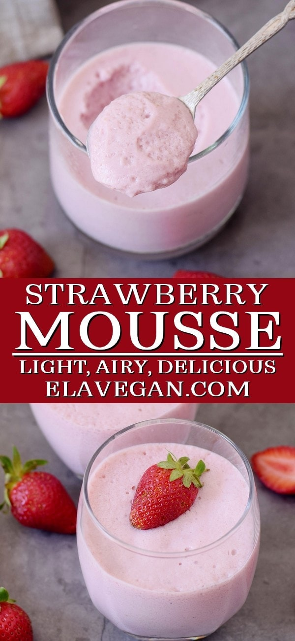 Pinterest Collage Easy Strawberry Mousse