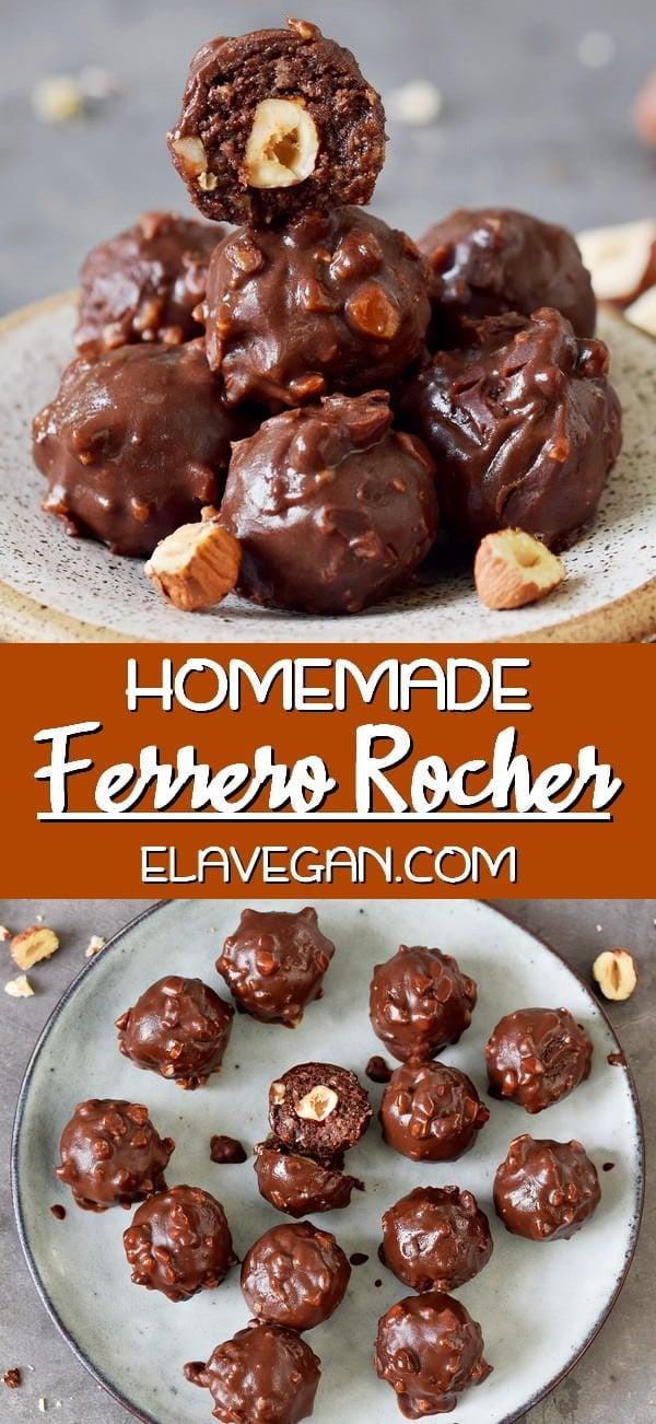 Pinterest Collage homemade Ferrero Rocher