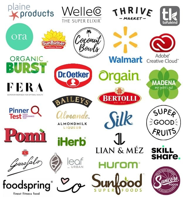 brands Elavegan worked with
