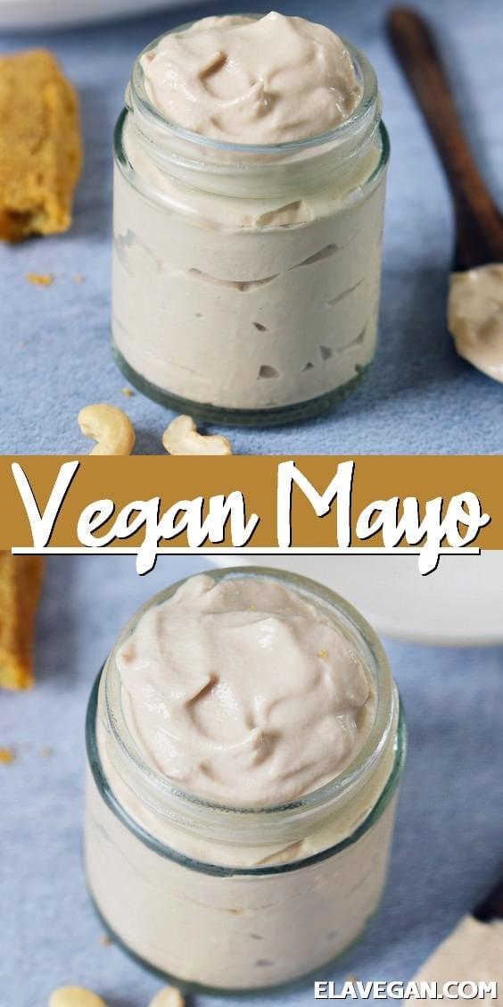 Pinterest Collage vegan mayo