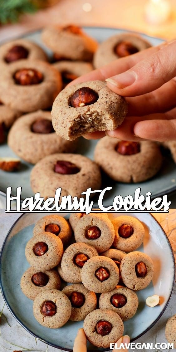 Pinterest Collage Hazelnut Cookies