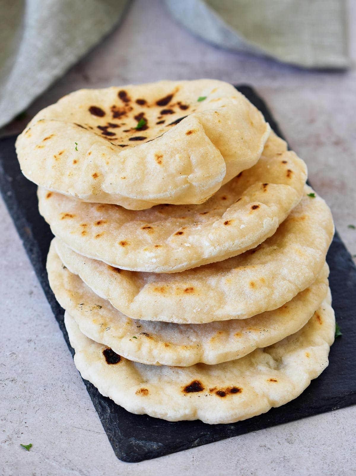 homemade gluten-free flatbread