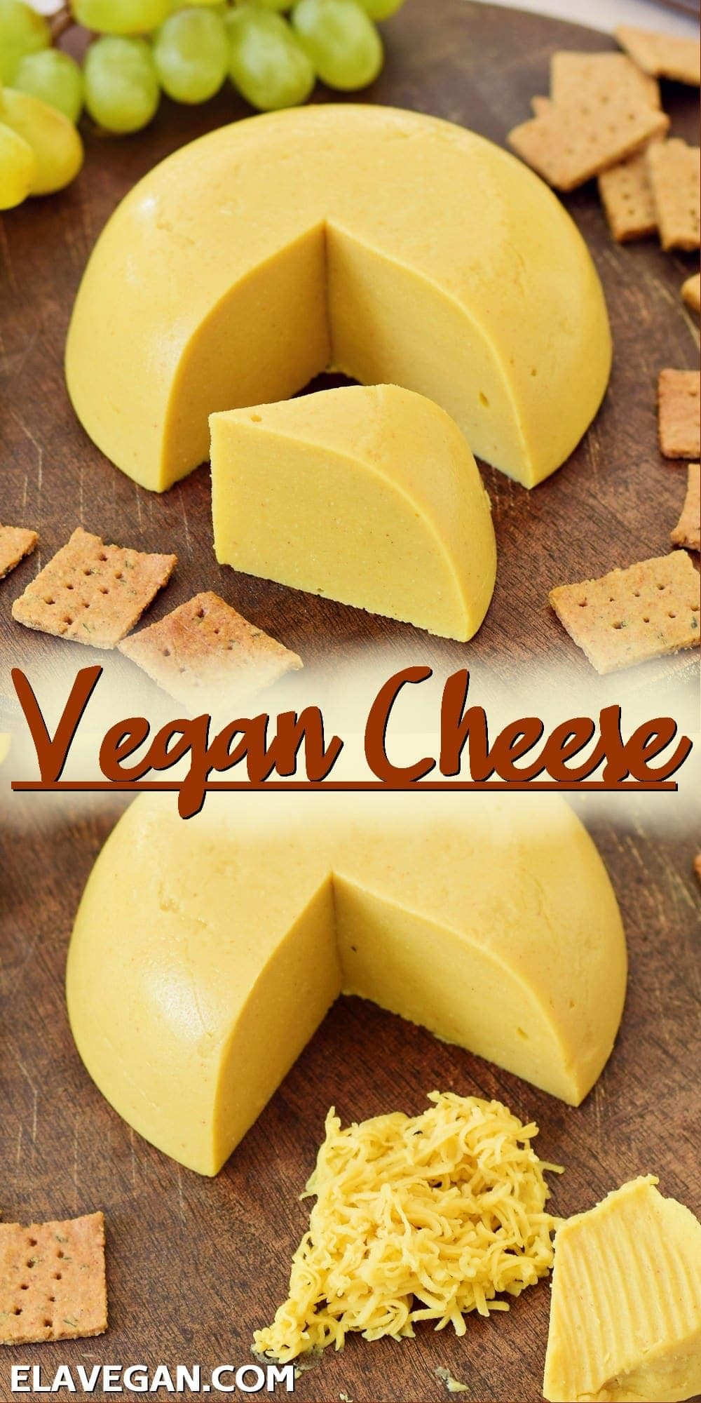 Pinterest Collage Vegan Cheese