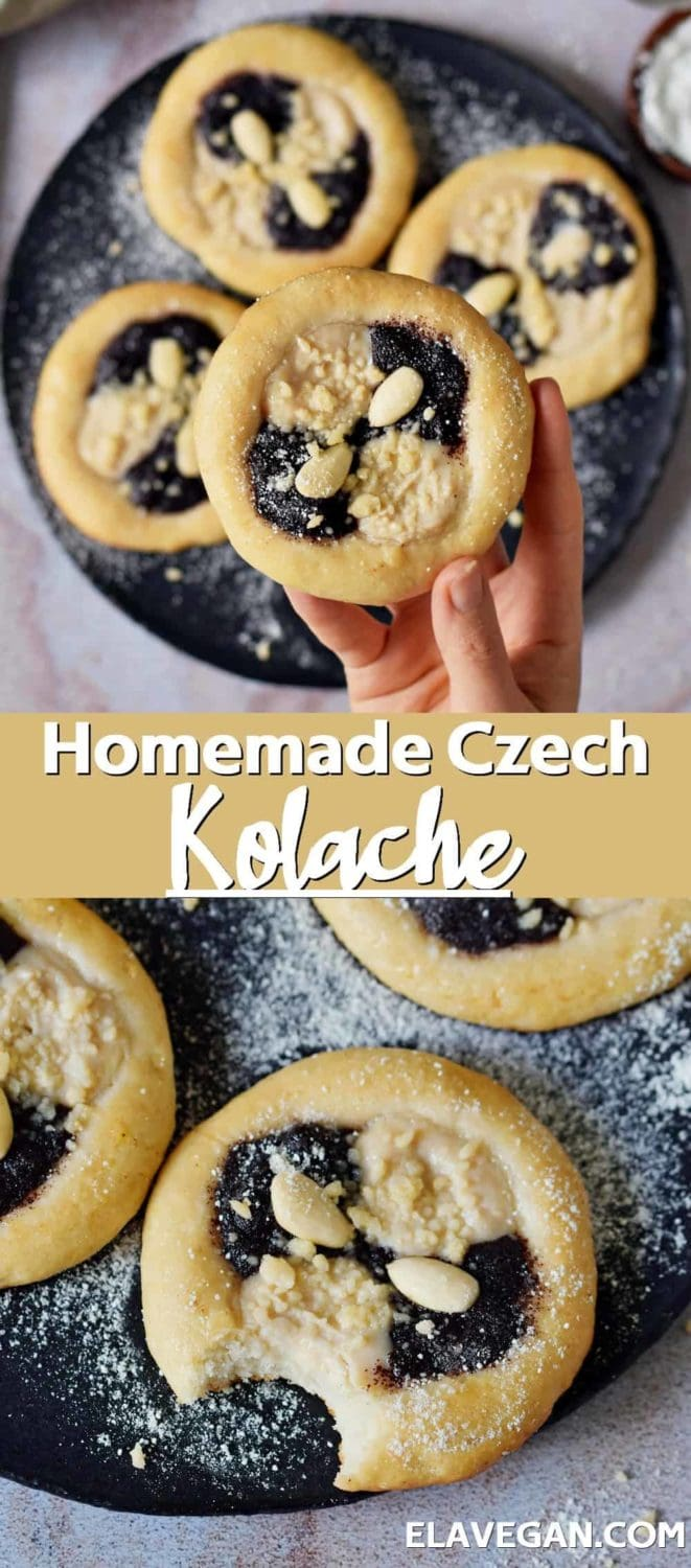Pinterest Collage homemade Czech kolache