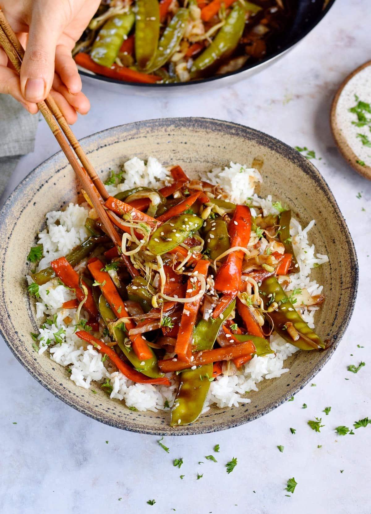 healthy vegetable chop suey recipe Vegetable Chop Suey