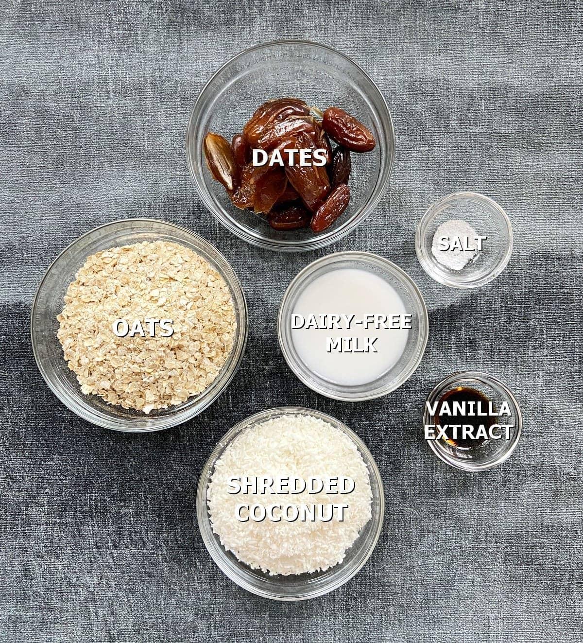 ingredients for gluten-free crust
