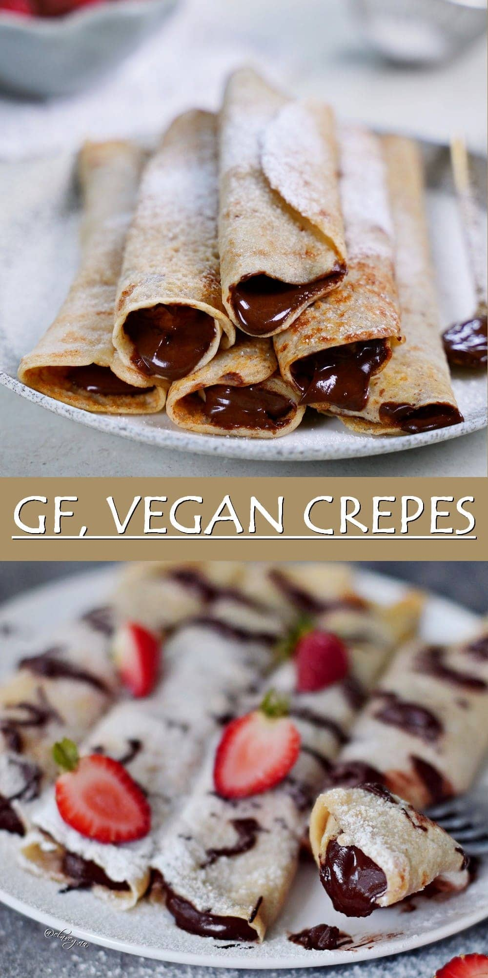 Pinterest Collage GF Vegan Crepes